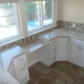 Custom Powder Room and Bathroom