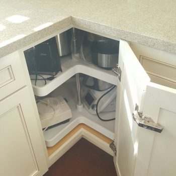 White Shaker Kitchen Cabinet